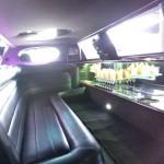 Limuzin bérlés: Lincon Town Car 120 Belső